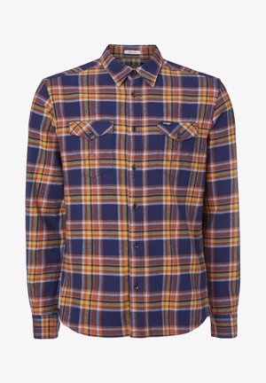 LS 2PKT FLAP - Camisa - patriot blue