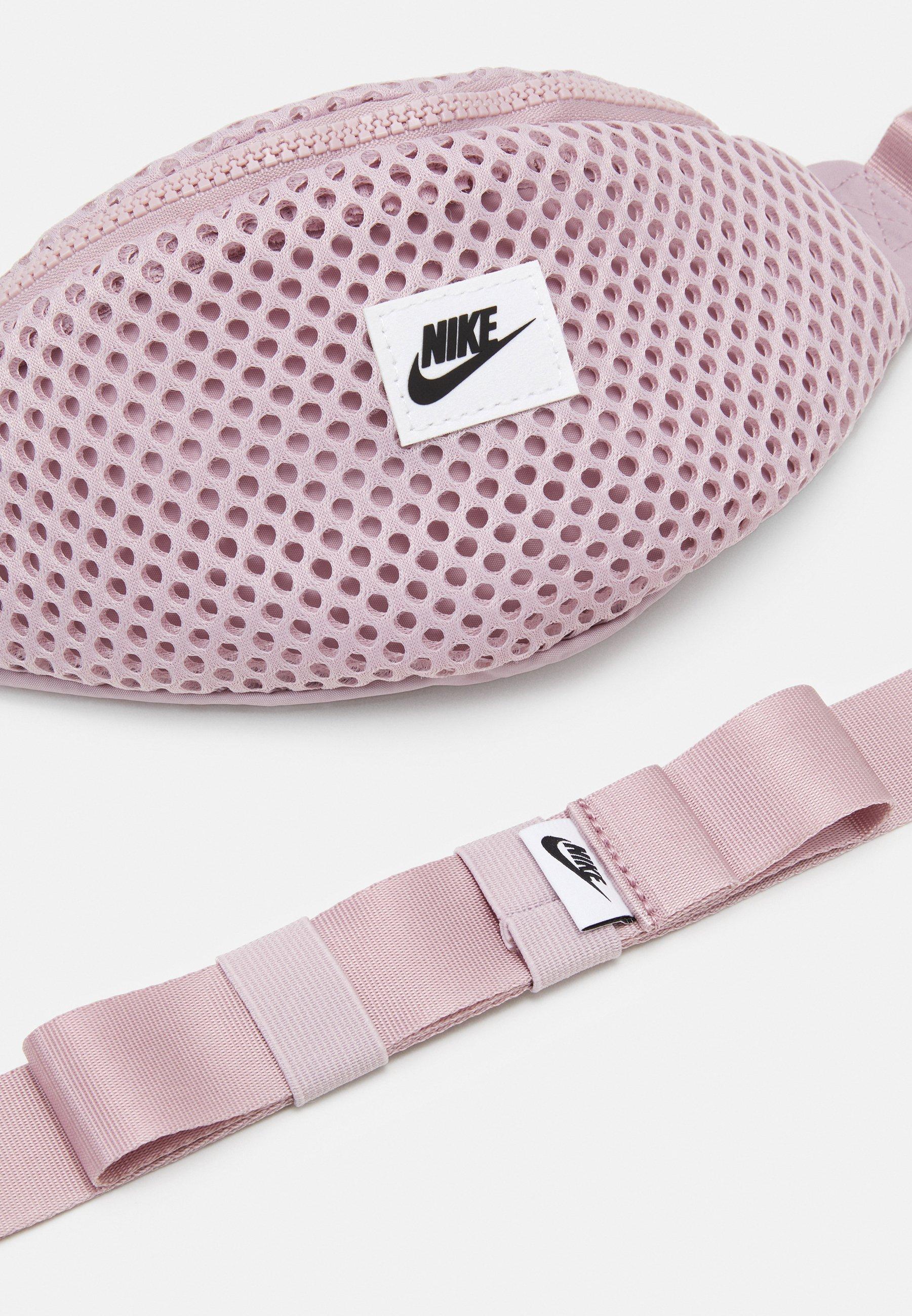 Nike Sportswear AIR WAIST PACK - Rumpetaske - plum chalk/black/lilla 6djSAwhEbLXy3pu