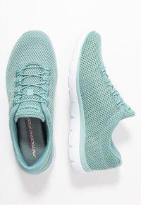 Skechers Sport - SUMMITS - Sneakers laag - sage/white - 3