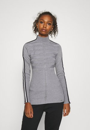 MENTOL - Sweter - gris/off white