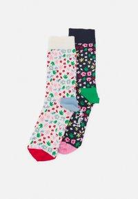 Happy Socks - MINI FLOWER 2 PACK UNISEX - Sokken - multi - 0