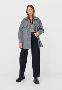 Stradivarius - Summer jacket - grey - 1
