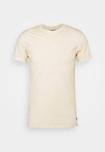 CLAYTON - Basic T-shirt - fog