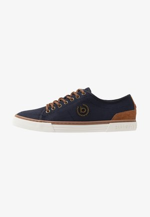 DROME - Sneakers - dark blue/cognac