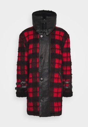 DORIAN - Classic coat - black/red