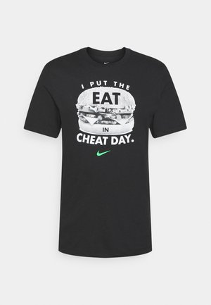 TEE HUMOR - T-shirt con stampa - black