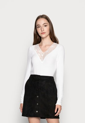 PCSIRI - Camiseta de manga larga - bright white