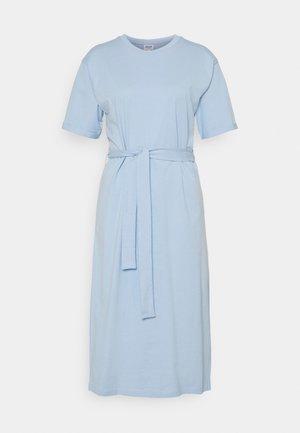 VMOLIVA O NECK DRESS - Jersey dress - cashmere blue