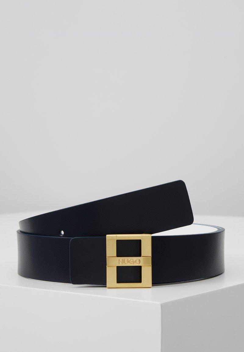 HUGO - ZITA BELT - Belt - navy/white