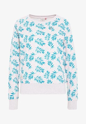 JOHANKA LEAVES - Sweatshirt - white