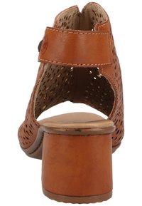 Rieker - Ankle cuff sandals - cayenne - 2