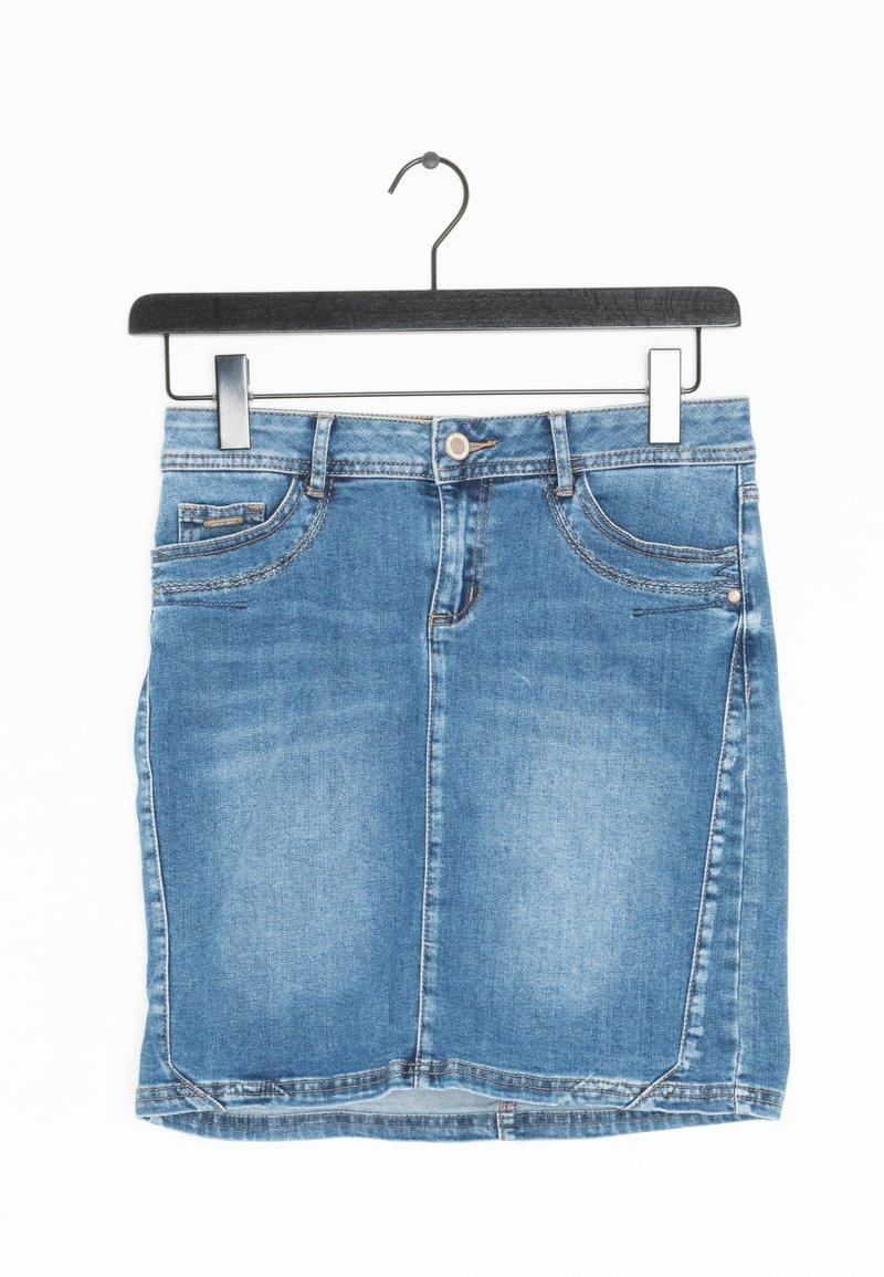 Street One - Spódnica jeansowa - blue