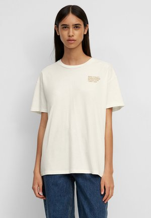 Print T-shirt - pistachio shell