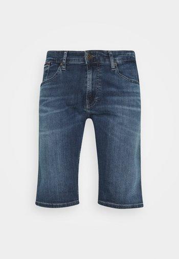RONNIE - Denim shorts - denim dark