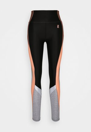 FIELD RUN LEGGING - Leggings - black