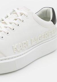 KARL LAGERFELD - MAXI KUP INJEKT LOGO - Tenisky - white - 5