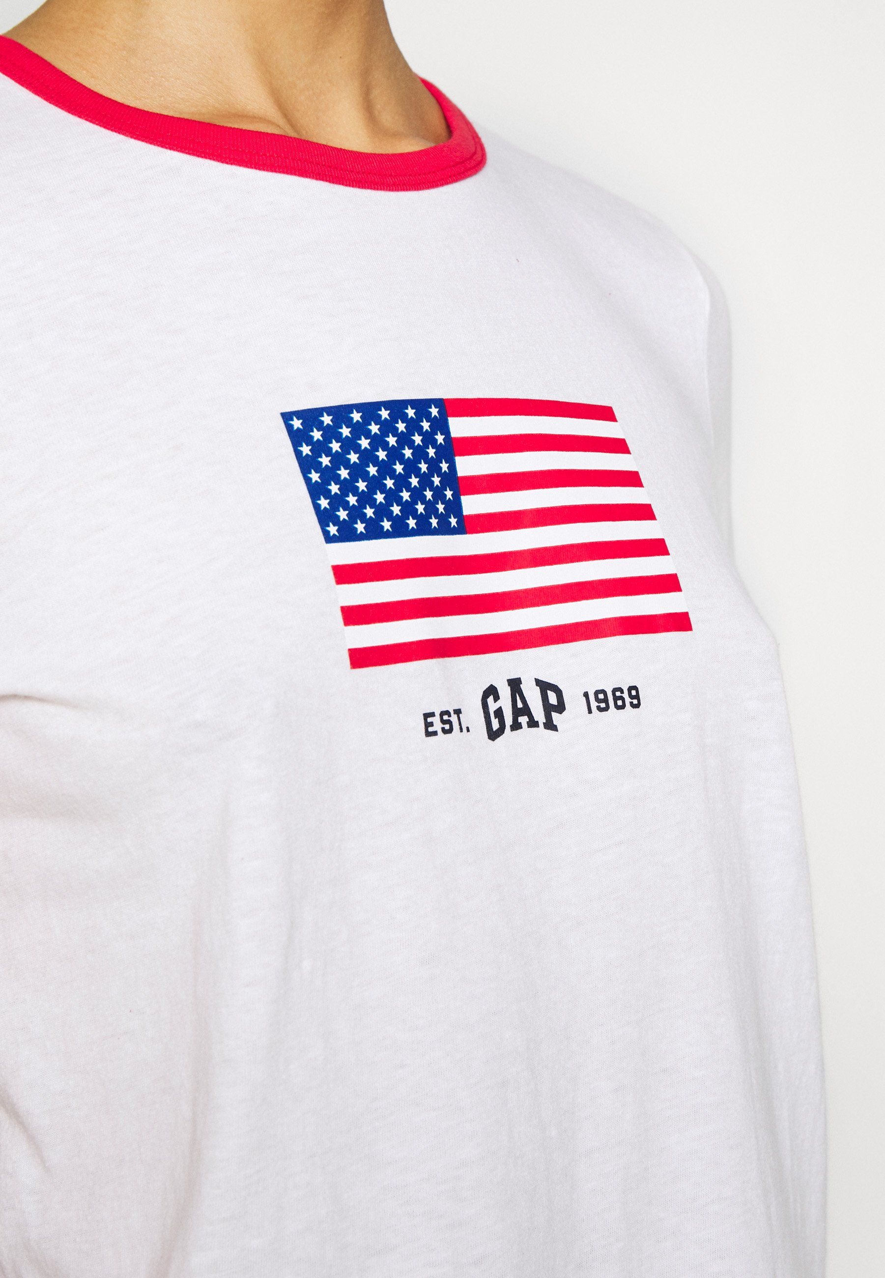 GAP TEE - T-shirts - fresh white
