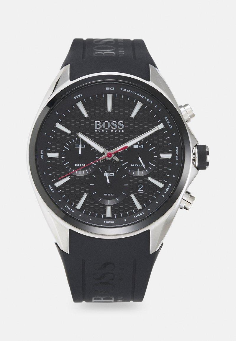 BOSS - DISTINCT - Chronograph watch - black