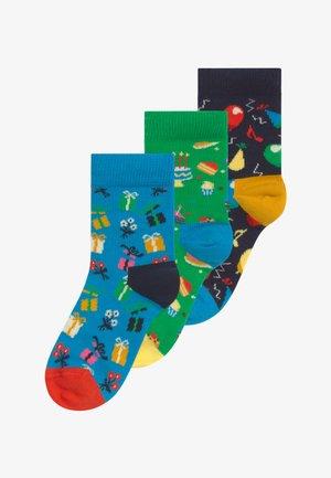 KIDS BIRTHDAY GIFT 3 PACK - Ponožky - multi-coloured