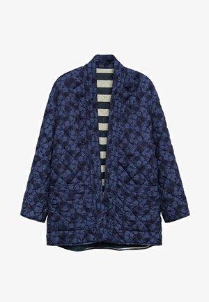 Winter jacket - bleu marine foncé