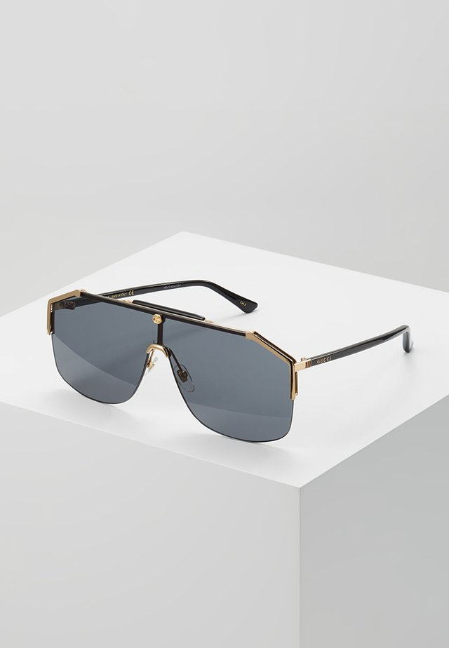 Sonnenbrille - gold/black/grey