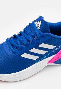adidas Performance - RESPONSE SR - Laufschuh Neutral - team royal blue/footwear white/halo blue - 5
