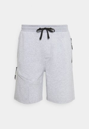 SHAYAN - Sports shorts - light grey