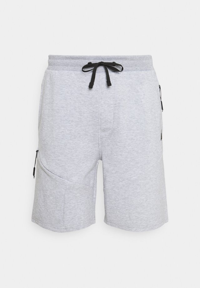 Men's shorts - Sports shorts - light grey