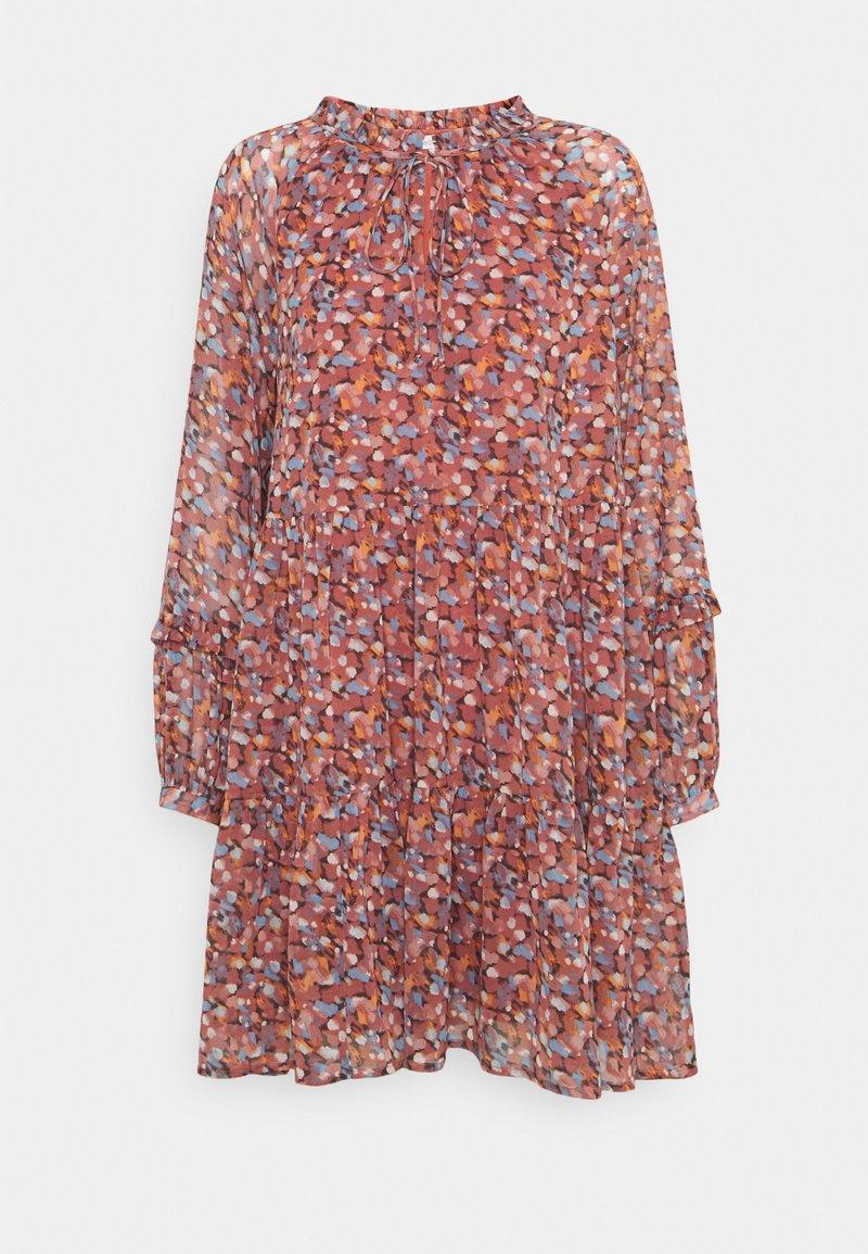 Nümph - NUCAIT DRESS - Day dress - marsala