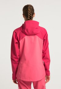 PYUA - Waterproof jacket - jalapeno red - paradise pink - 2