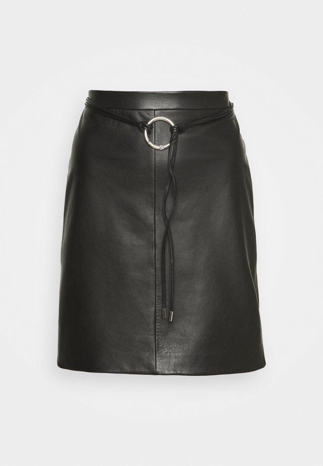 LELISA - Falda de tubo - black