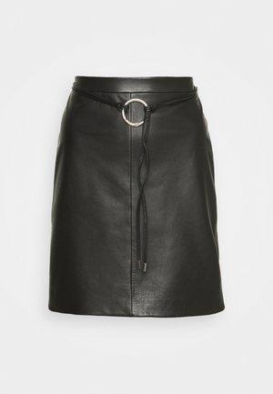 LELISA - Pencil skirt - black