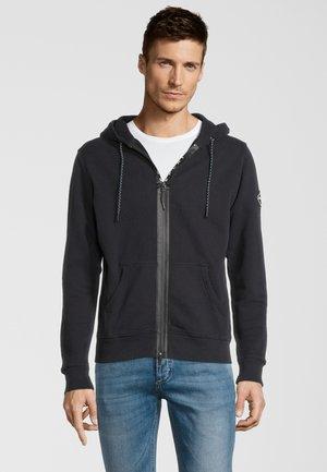 Zip-up hoodie - dark grey