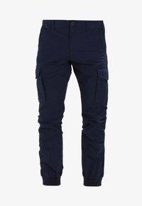 PKTAKM WASHED CUFF  - Cargo trousers - navy blazer