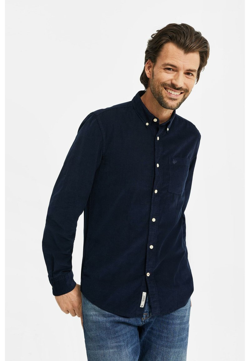 WE Fashion - Camicia - navy blue