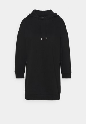 DRESS HOODIE SEPTEMBER - Korte jurk - black