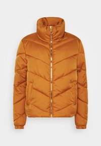 JDY - JDYFINNO PADDED JACKET - Zimní bunda - sudan brown - 4
