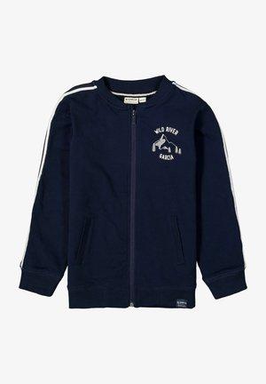 Zip-up sweatshirt - evening blue