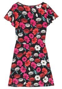Tezenis - MIT VOLANTÄRMEL - Day dress - nero st.blossom pink - 5