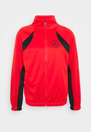 Training jacket - chile red/black