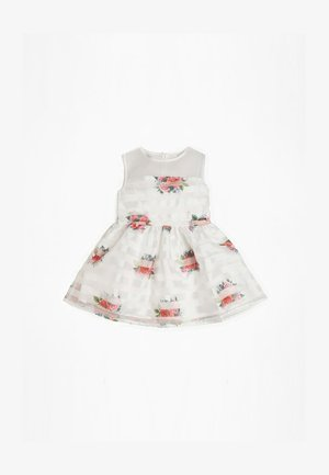 ROBE IMPRIMÉ FLEURI ORGANZA - Day dress - Multi red