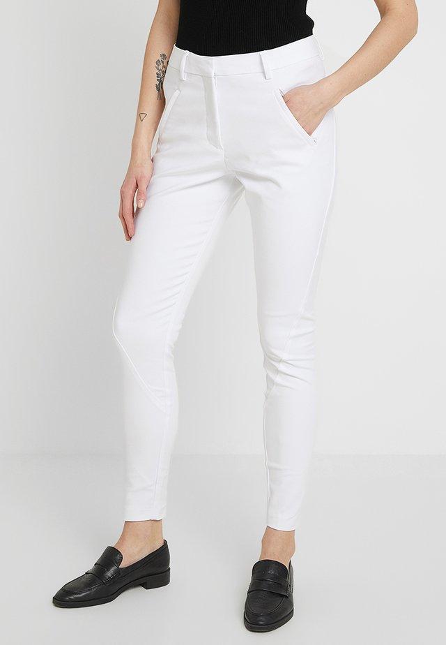 ANGELIE - Broek - white