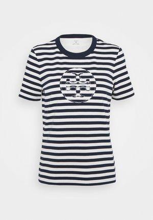 STRIPED LOGO  - T-shirts med print - navy