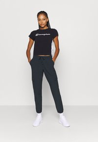 Champion - ELASTIC CUFF PANTS LEGACY - Trainingsbroek - black - 1