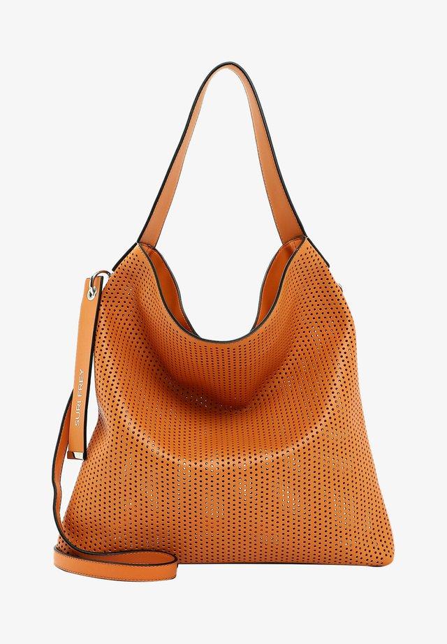 Shopping bag - orange