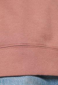 Abercrombie & Fitch - MOCK CREW - Sweatshirt - pink - 5