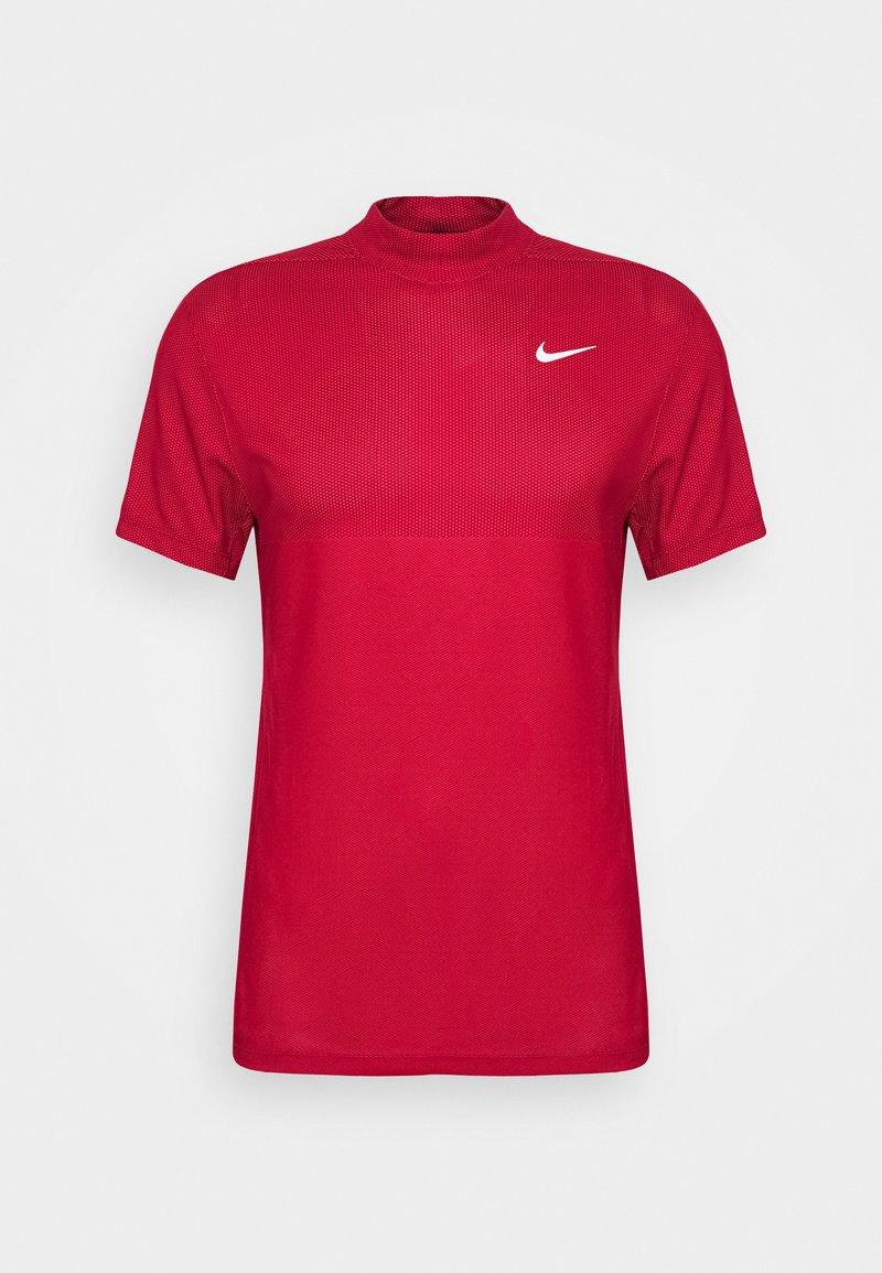 Nike Golf - DRY MOCK - Camiseta de deporte - team red/gym red/white
