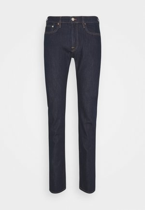 Slim fit jeans - dark-blue denim