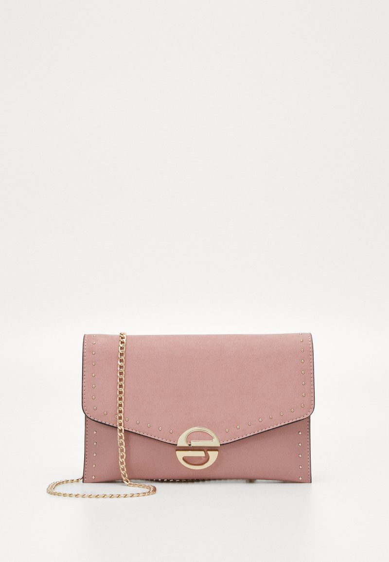 Topshop - CANDICE CLUTCH  - Clutch - blush