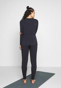 Curare Yogawear - WRAP BELT - Treningsjakke - midnight blue - 2